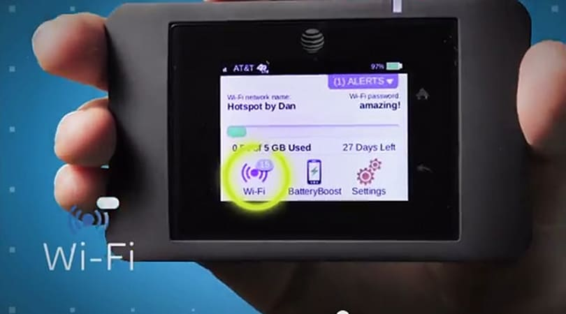 AT&T's Unite Pro LTE hotspot supports up to 15 devices, doubles as a charger