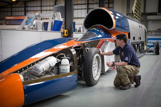 Bloodhound's land speed record revived by Chinese car giant