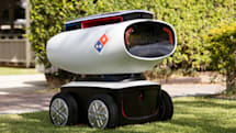 Domino's has built an autonomous pizza delivery robot