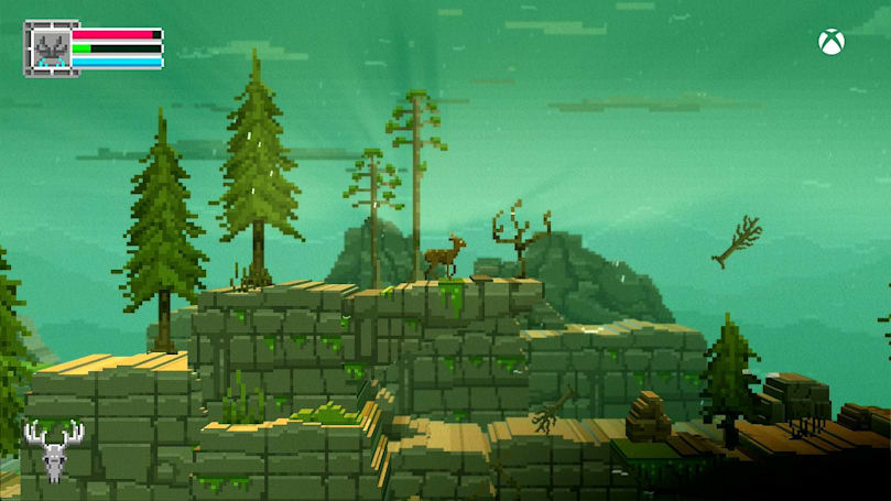 Playdate: Running wild in 'The Deer God' and 'Castle Crashers'