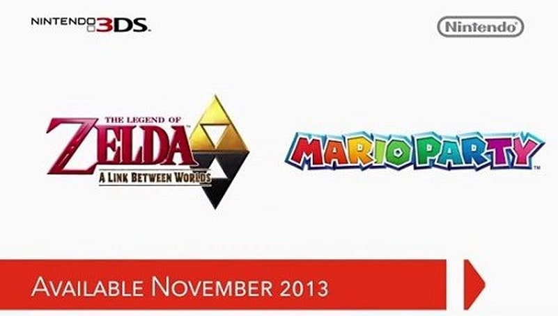Zelda: A Link Between Worlds and Mario Party: Island Tour hit 3DS Nov. 22