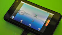 NVIDIA's Tegra in the flesh, booting to Android and pumping out 1080p video
