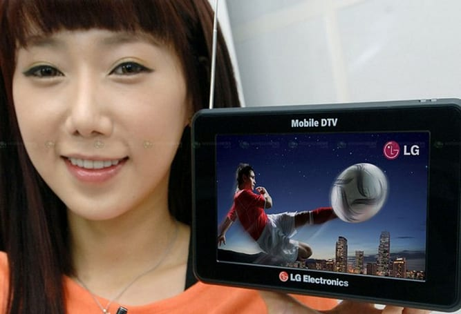 LG looks set to unveil mobile 3DTV at CES