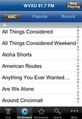 Public Radio App lets you resume 'This American Life' whenever you please