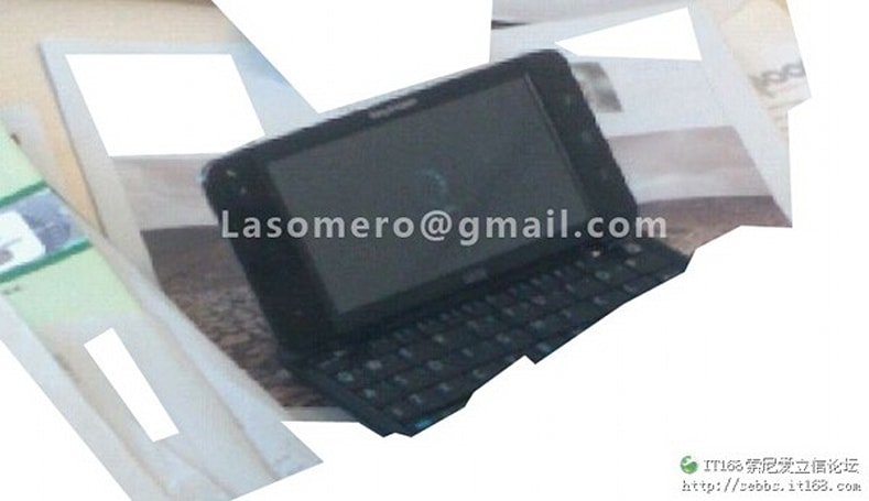 Sony Ericsson prepping a 5-inch Android phone with QWERTY keyboard? (updated)