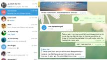Telegram updates desktop app with new look