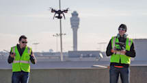 Drones help expand the world's busiest airport