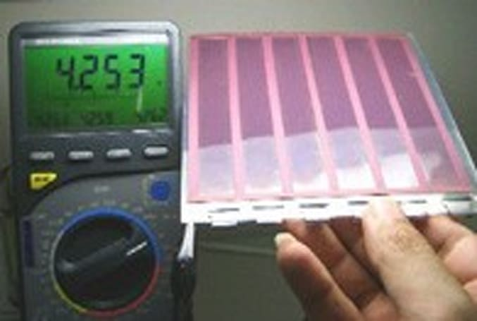 Massachusetts company develops inkjet-printed solar panels