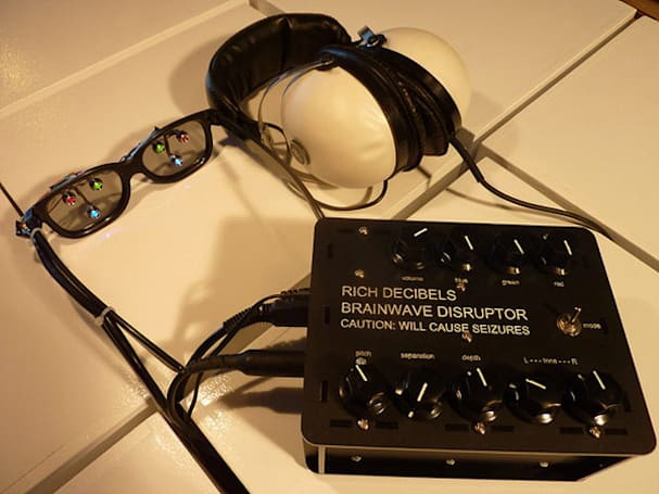 Rich Decibels Brainwave Disruptor scrambles your head, not your eggs