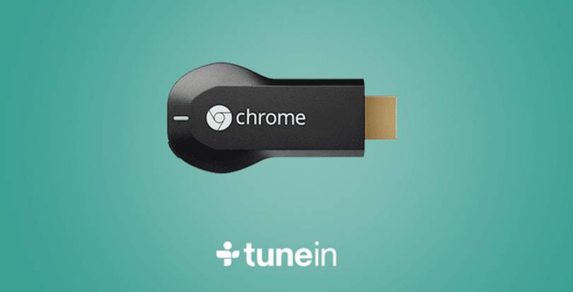 TuneIn brings over 100,000 radio stations to your Chromecast