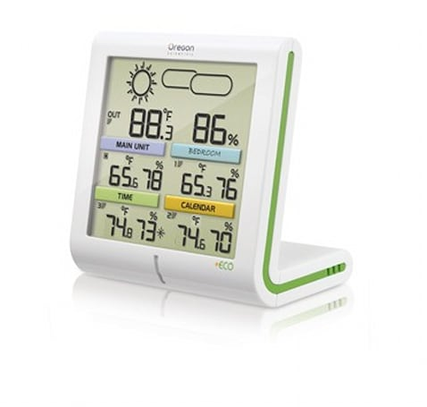 Oregon Scientific introduces solar-powered +ECO Clima Control weather station