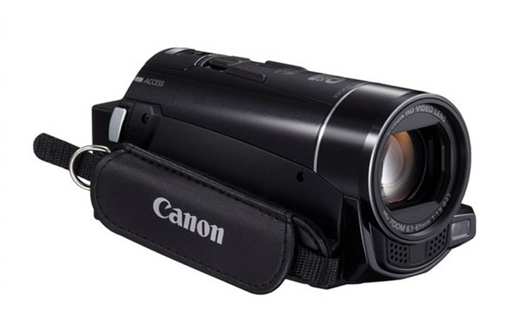 Canon's VIXIA camcorders go social for the new year, get improved low-light performance