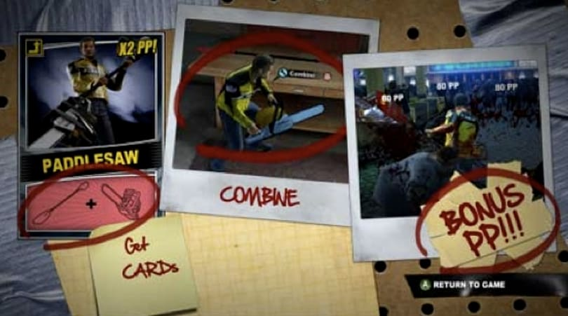 Dead Rising 2 screens show off new weapon creation system