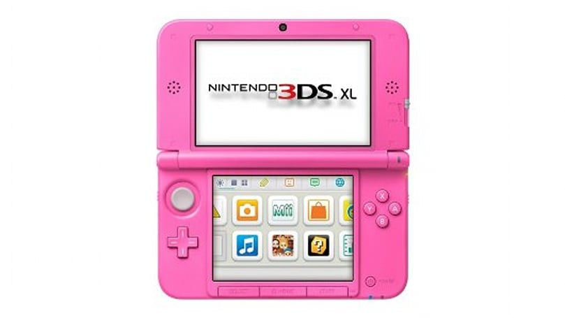 New Pink 3DS XL announced for UK, coming next month