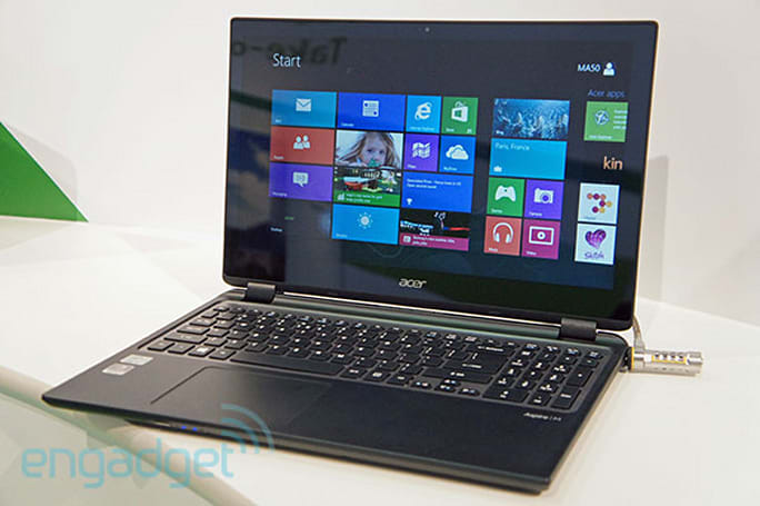 Acer announces Aspire M3 and Aspire V5 laptops with touchscreens (update: hands-on photos)