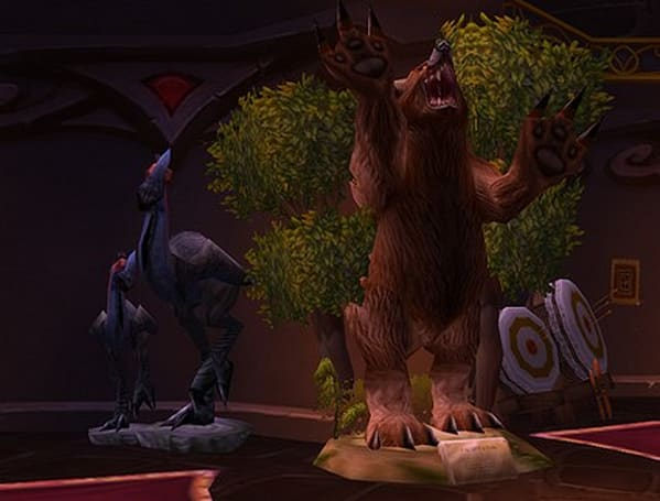 Taxidermists and their creations in the World of Warcraft