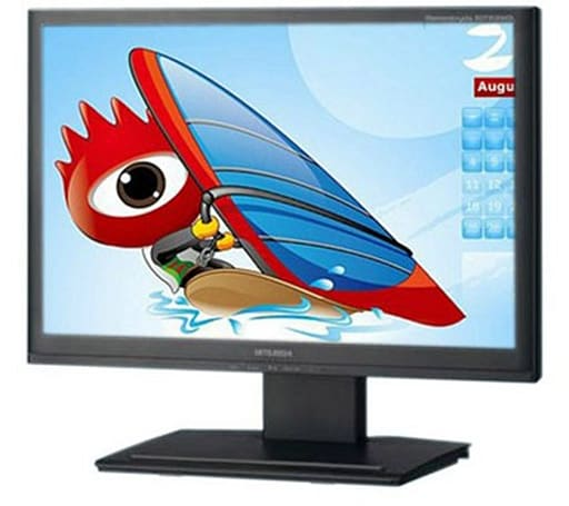 Mitsubishi's RDT201WDL DisplayLink monitor now available