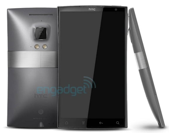 HTC Zeta rendered, rumored to pack 2.5GHz quad-core CPU and Ice Cream Sandwich (update: concept)