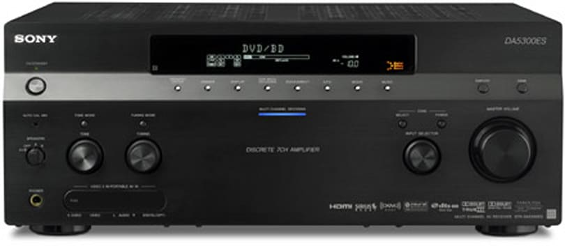 Sony's ES receiver lineup handles multizone HD streaming, iPods
