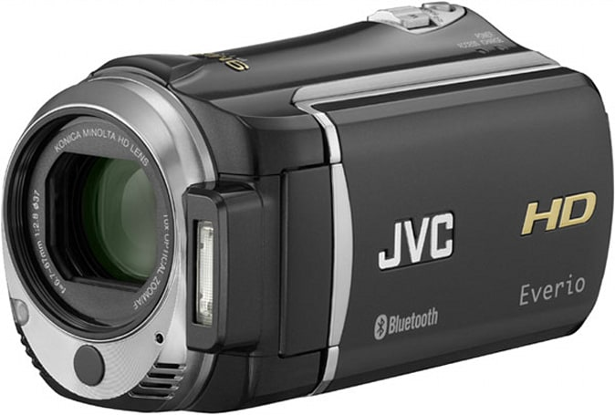 JVC ships Bluetooth-packin', geotagging Everio GZ-HM550 camcorder
