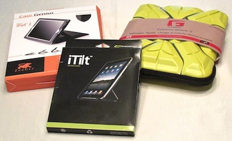 iPad cases and stands: The few, the proud, the innovative