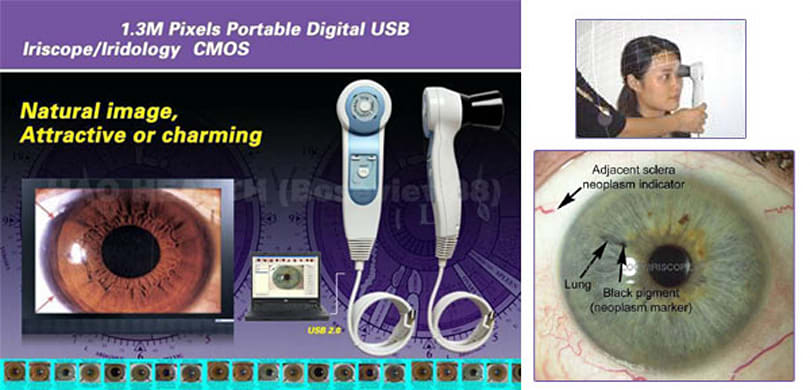 USB iriscope is just what you need for your next date
