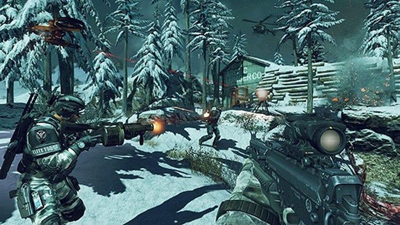 Watch for falling buildings in Call of Duty: Ghosts' 'Free Fall' pre-order map