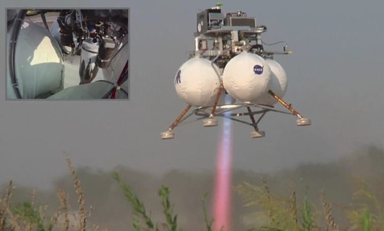NASA successfully tests autonomous lunar lander navigation system, codename GENIE (video)