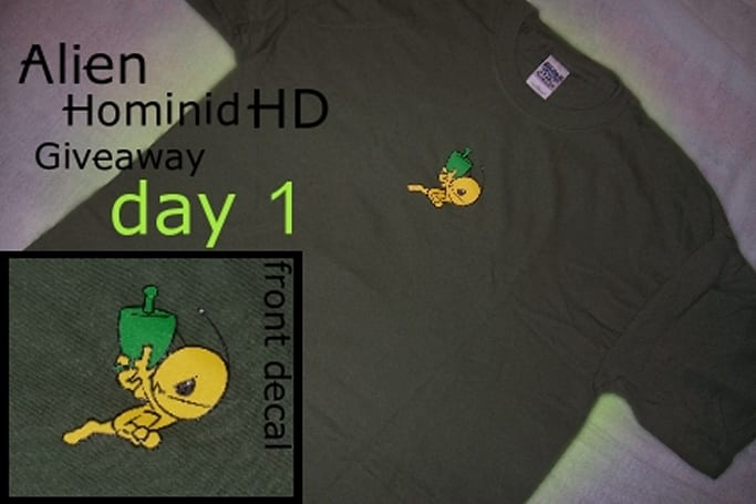Fanswag: Alien Hominid HD Giveaway day 1 [update 1]