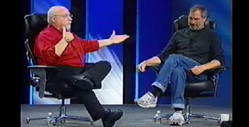 Steve Jobs of interviews past