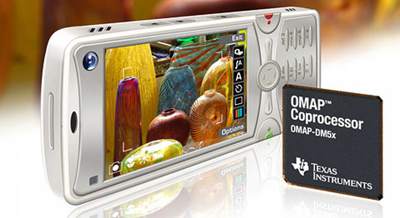 TI's OMAP-DM5x coprocessors promise 20MP cameraphones, 720p recording and freedom from heartache