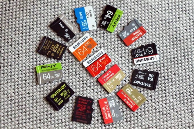 The best microSD card