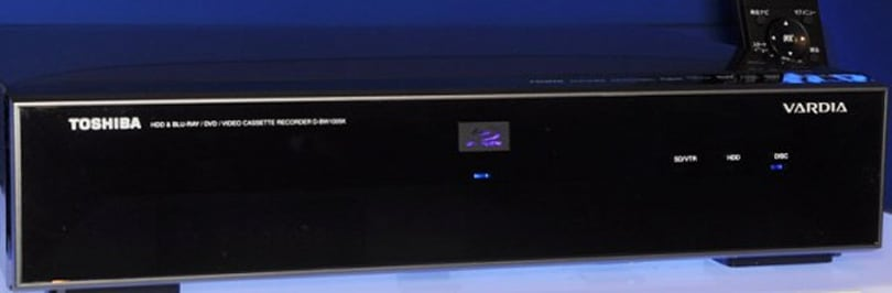 Toshiba updates VARDIA line of DVRs with Blu-ray, VHS... wait, what?