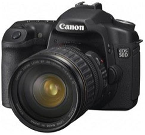 Canon 50D firmware update fixes vertical banding issues