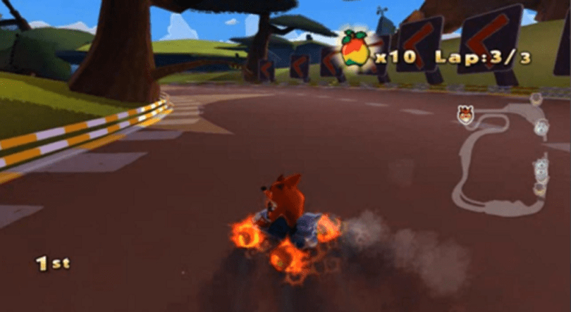 Rumor: Cancelled 'Crash Team Racing 2010' screenshots surface on YouTube