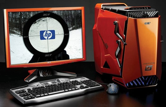 Acer gains ground on HP as ASUS bumps Toshiba out of top five global PC vendors