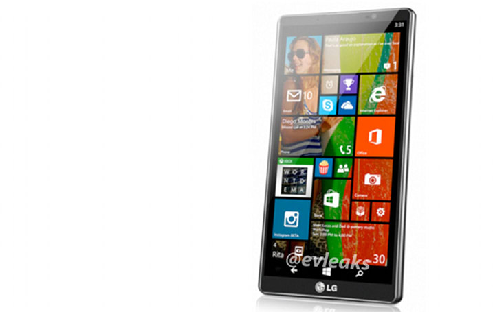 If LG's working on a Windows Phone 8 handset, this is what it'll look like