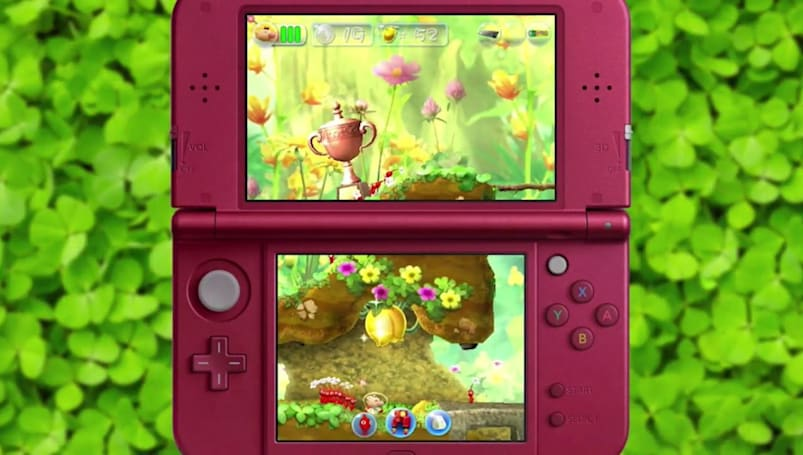 The next 'Pikmin' game is a Nintendo 3DS side-scroller