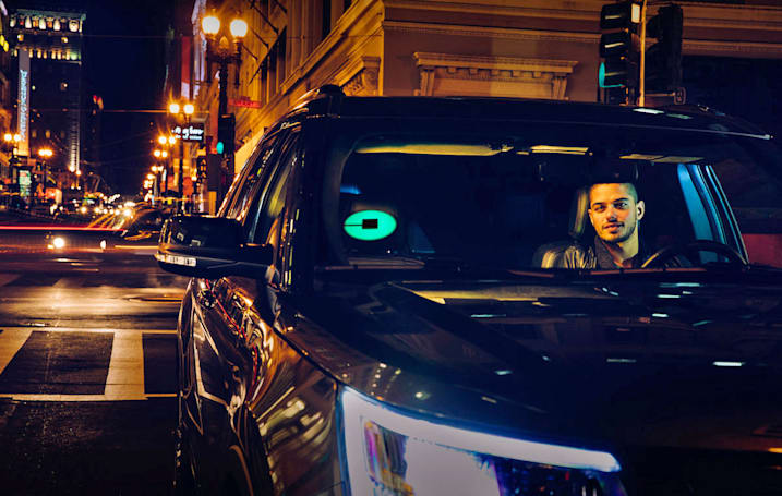 Uber's Beacon is a colorful light to guide you to the right ride