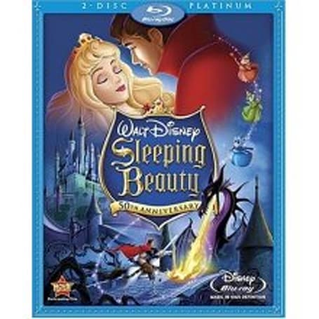 Sleeping Beauty Blu-ray disc fully spec'd and ready for October 7 debut