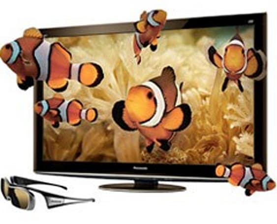 Panasonic intros 42- and 50-inch 3D Viera GT25 plasma sets, its first with 2D-to-3D conversion