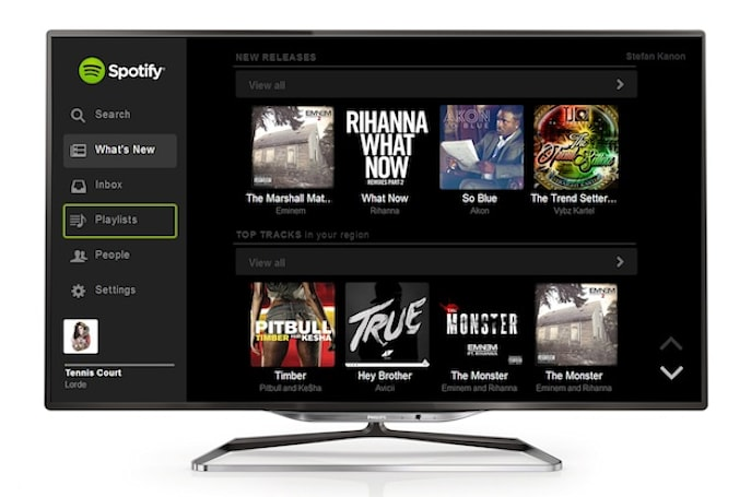 Philips adds Spotify to some of its 2013 Smart TVs in Europe