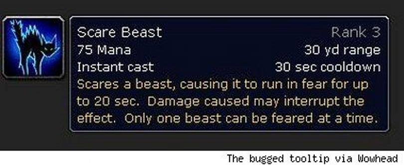 Hunter Growl and Scare Beast changes not so sweet after all