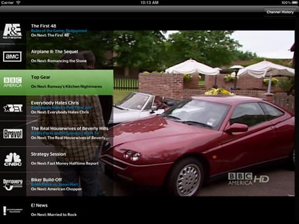 Time Warner Cable brings back Discovery, Fox channels to its iPad app