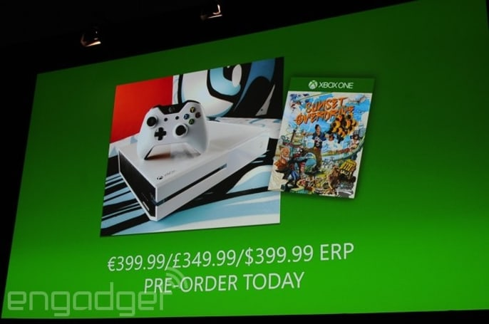 There is a white Xbox One console and gamepad coming this October