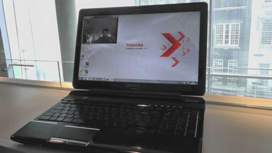 Toshiba Qosmio F750 Hands-on