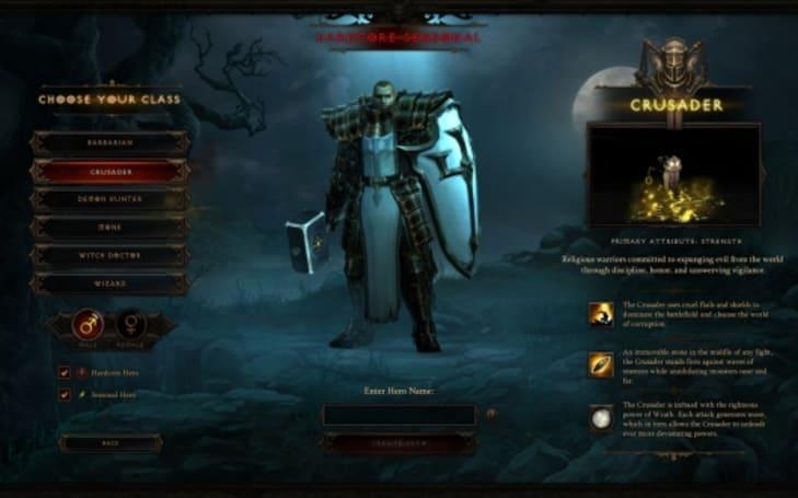 Diablo III: Reaper of Souls' first update bringing seasonal play