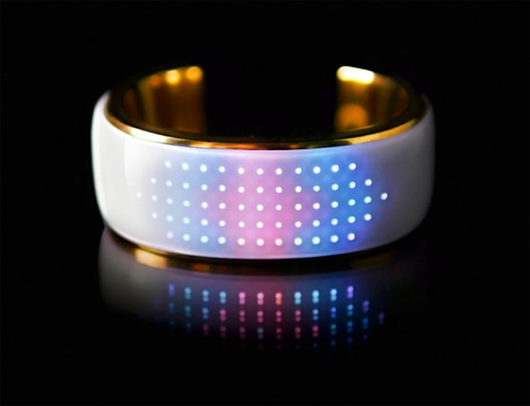 This Bluetooth bangle lights up to match your outfit, tells you when you miss a call