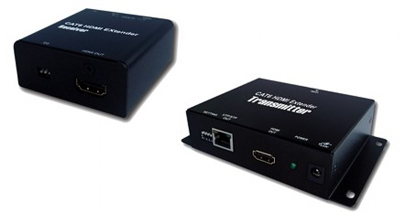 Teq AV/IT's HDCP-friendly TPH372 extends HDMI over CAT6
