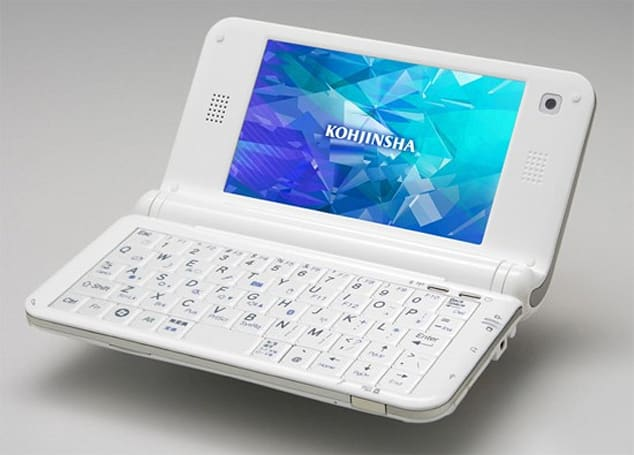 Kohjinsha rebrands mbook M1, calls it the PM series UMPC